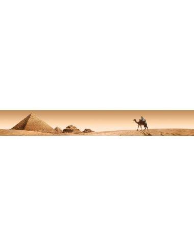 Пирамиды стеклянный бордюр (Сиерра)