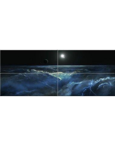 Космос стеклянное панно (Аризона)