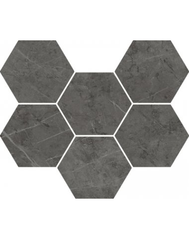 ШАРМ ЭВО АНТРАЧИТ МОЗАИКА ГЕКСАГОН CHARME EVO ANTRACITE MOSAICO HEXAGON