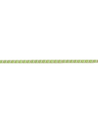 Бусинки зеленый 0,6х25