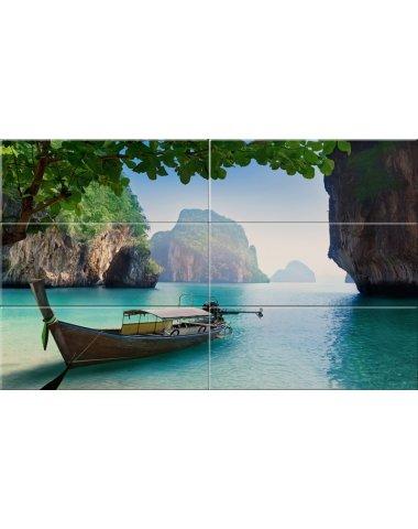 Тайланд стеклянное панно 6 (Концепт)