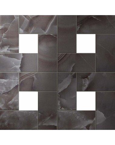 S.O. Black Agate Mosaic Lap / С.О. Блэк Агате Мозаика Лаппато