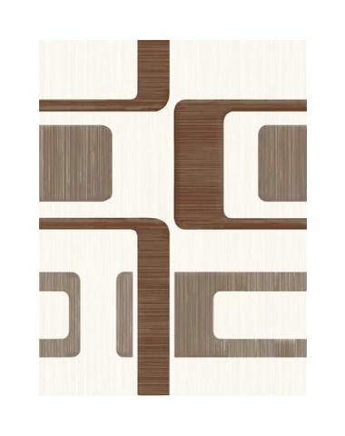 Сакура 3 Декор Вельвет