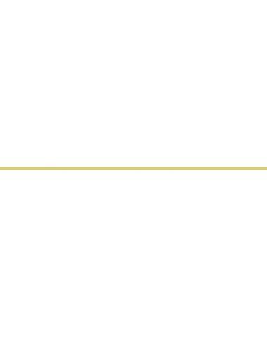 Бордюр метал. золото матовое 0,8х60