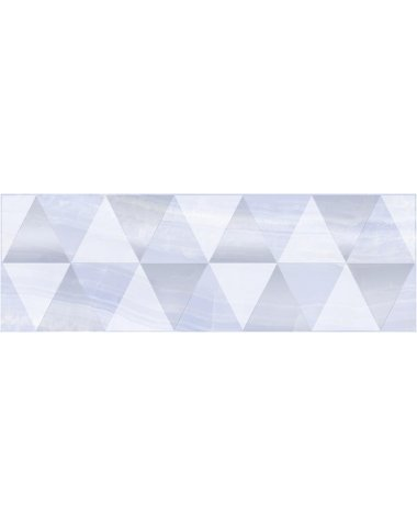 Diadema Perla Декор голубой 20х60