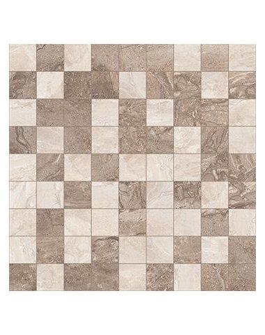 Polaris Мозаика т.серый+серый 30х30