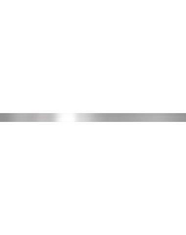 Бордюр метал. серебро глянцевое 2,9х60