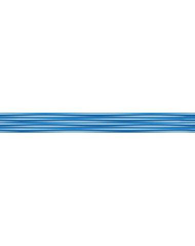 Stripes Бордюр синий 5х50