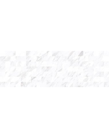 Terma Плитка настенная белый мозаика 20х60