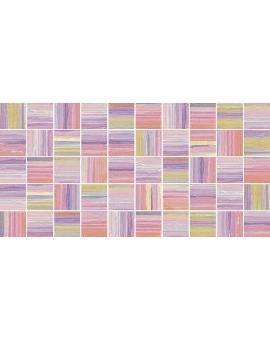 Фламинго лиловый Мозаика стандарт 10-31-51-271 25х50