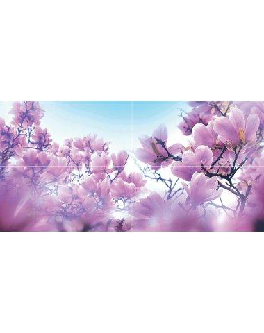 Magnolia Панно 80х40 (из 4 плиток)