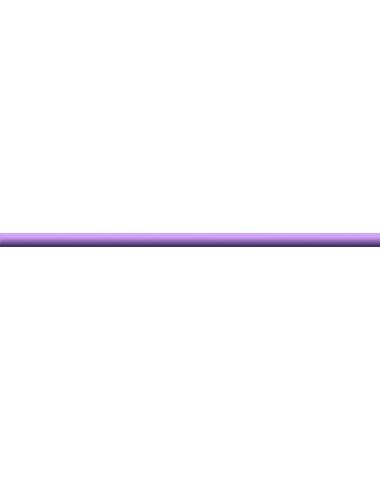 Бордюр стеклянный лиловый 2х50