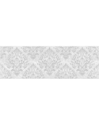 Мармара Арабеска Декор серый 20х60