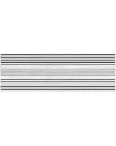 Мармара Лайн Декор серый 20х60