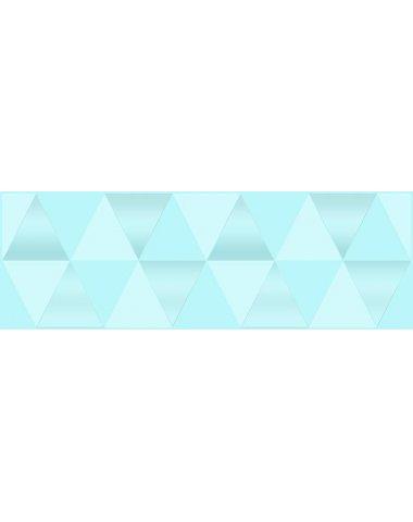 Sigma Perla Декор голубой 20х60