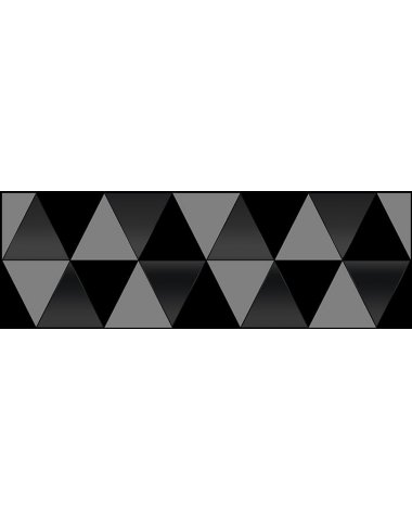 Sigma Perla Декор чёрный 20х60