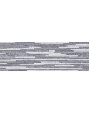 Pegas Плитка настенная серый мозаика 20х60