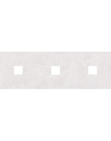 Студио Декор (с 3-мя вырезами 4,6х4,6) серый 20х60