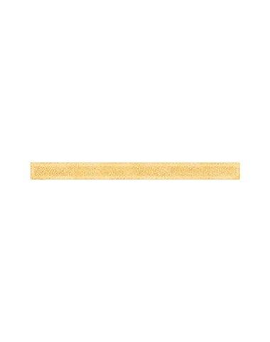 Monocolor Бордюр стекло Gold 2х25