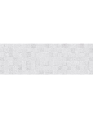 Mizar Плитка настенная серый мозаика 20х60