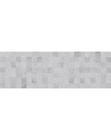 Mizar Плитка настенная тёмно-серый мозаика 20х60