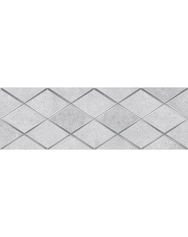 Mizar Attimo Декор тёмно-серый 20х60