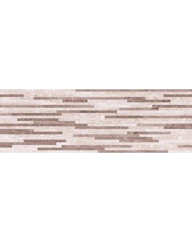 Pegas Плитка настенная бежевый мозаика 20х60