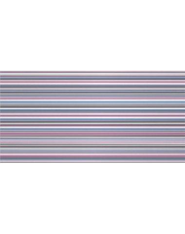Enigma Декор синий (полоски) 25х50