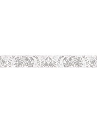 Afina Damask Бордюр серый 56-03-06-456 5х40