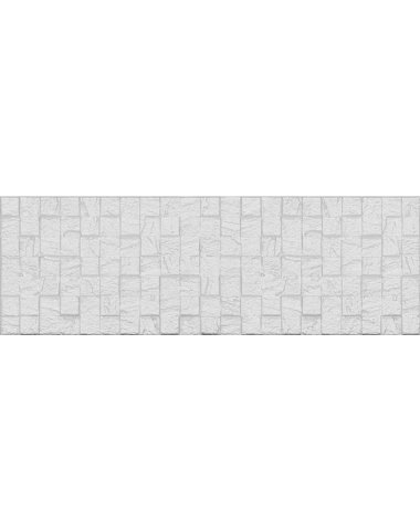 Eridan Плитка настенная белый мозаика 20х60