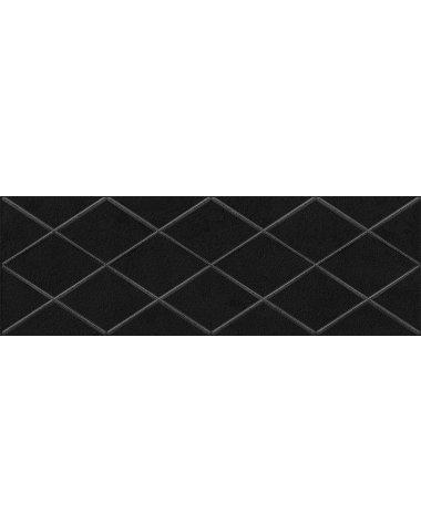 Eridan Attimo Декор чёрный 20х60