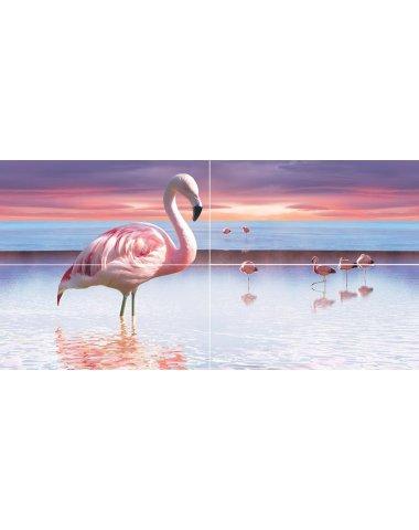 Flamingo Панно 50x100