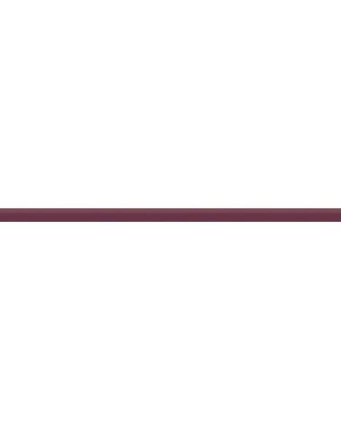Бордюр стеклянный бордовый 2х50