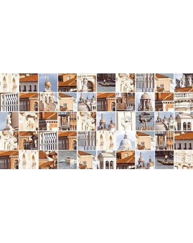 Венеция бежевый Мозаика стандарт 10-31-11-273 25х50