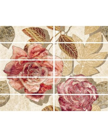 Illyria flowers Бордюр 7,5х25