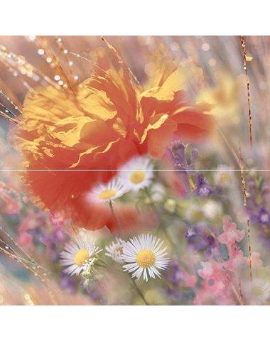 Flowers Панно 40х40 (из 2 плиток)