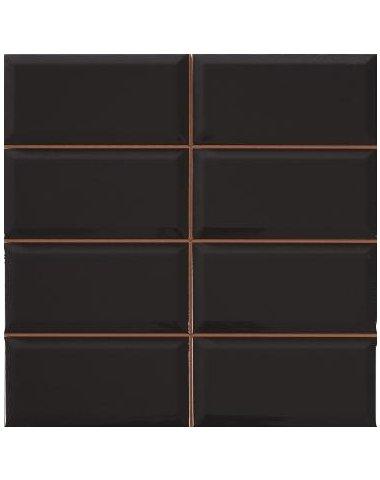 Diamond 4x2 negro Плитка настенная 31,6x31,6