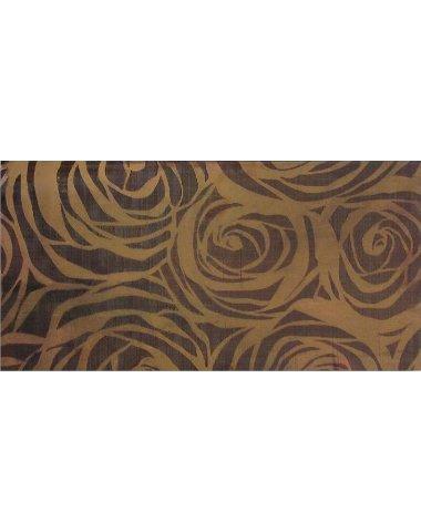 Elegante Marrone Roze Декор 30х60