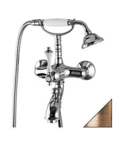 Смеситель для ванны Cezares с ручным душем однорычажный