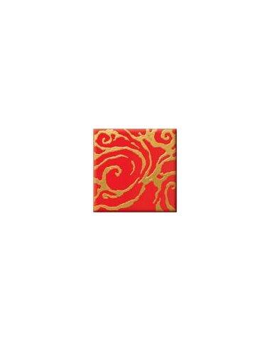 ORLY VERSUS Декор красный R 10х10