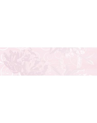 Dec. Flower Pink A Декор 29x100