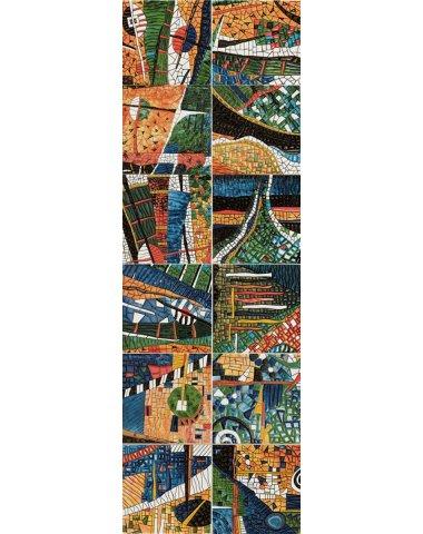 Mural Gaudi 6P Панно ( из 6 плиток) 50х150