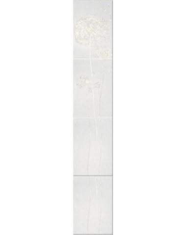 Silk Oduvan Бордюр белый W 27,5х7