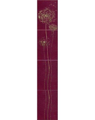 Silk Oduvan Бордюр розовый PN 27,5х7