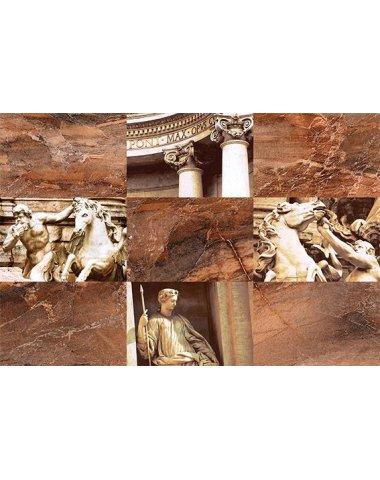 Trevi Декор коричневый (TY2N112D) 30x45