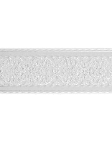 Adore White Cenefa Бордюр 100x250 мм