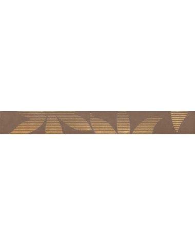 Amaltea Brown Бордюр 4,8х40