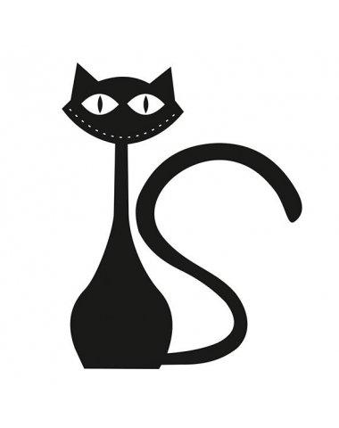 Black cat 1 Декор 10х10