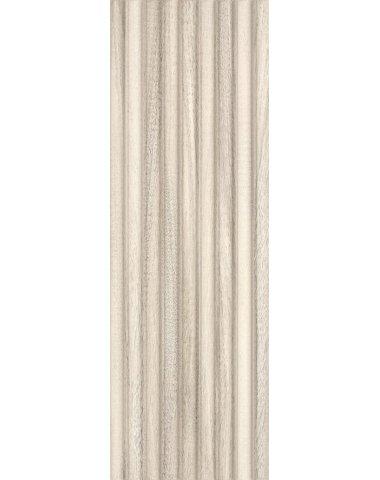 Daikiri Beige Wood Pasy Struktura Плитка настенная 25х75
