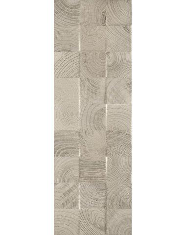 Daikiri Grys Wood Kostki Struktura Плитка настенная 25х75